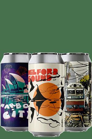 Coffret Canettes nouveautés bières artisanales Brasserie Hoppy Road