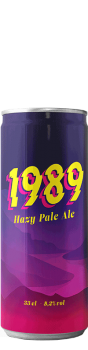 Canette de bière Hazy pale ale Brasserie 1989 Brewing