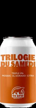 Bière Trilogie du samedi Triple IPA brasserie 90 BPM