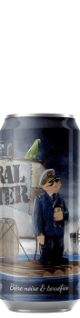 Canette de bière Amiral Porter Brasserie Piggy Brewing Company