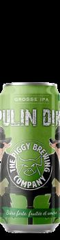 Canette de bière Lupulin Diktat IPA Brasserie Piggy Brewing Company