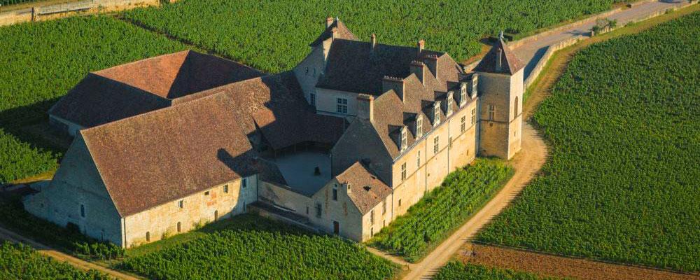 Vignoble de Bourgogne et Château du Clos de Vougeot