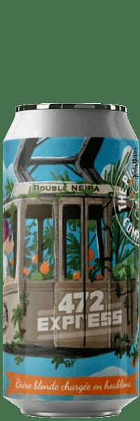 Canette de bière 472 express double neipa Piggy Brewing Company