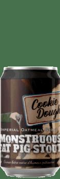 Canette de bièreMonstruous piggy stout Cookie Dough Piggy Brewing Company