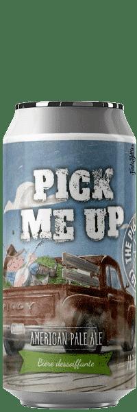 Canette de bière Pick Me Up American pale Ale Citra Piggy Brewing Company