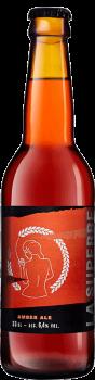 Bouteille de bière Amber Ale Brasserie La Superbe