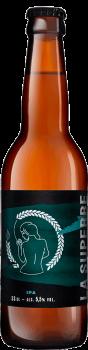 Bouteille de bière India Pale Ale IPA Brasserie La Superbe