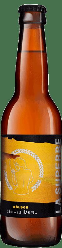 Bouteille de bière Kolsch Brasserie La Superbe