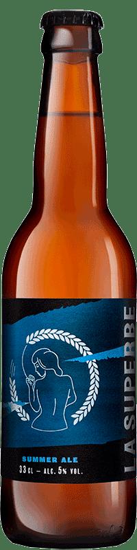 Bouteille de bière Summer Wheat Ale Brasserie La Superbe