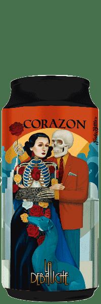Canette de Bière Corazon Sour Coco la brasserie La Débauche