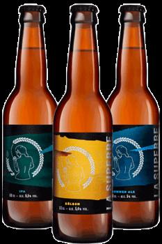 Coffret de bières artisanales de la brasserie La Superbe