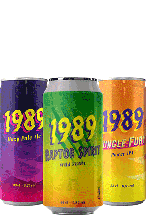 Coffret de bières Brasserie 1989 Brewing