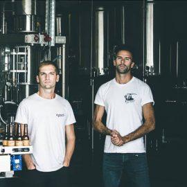 Baptiste Cartereau et Vincent Chauvet de la Brasserie La Superbe