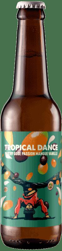 Bouteille de bière artisanale Tropical Dance Pastry Gose Brasserie Hoppy Road