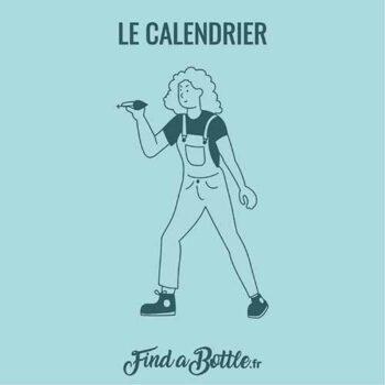 Personnage du calendrier de l'avent Find A Bottle