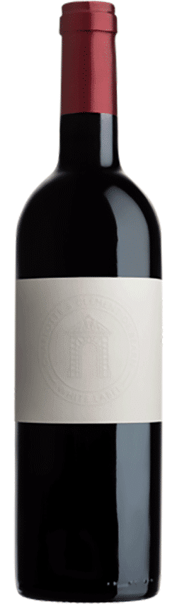 Bouteille de vin rouge White Label du Château de Jonquières