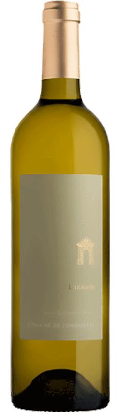 Bouteille de vin Lansade Blanc du Château de Jonquières