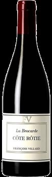 Bouteille de vin Côte-Rôtie la Brocarde du Domaine François Villard