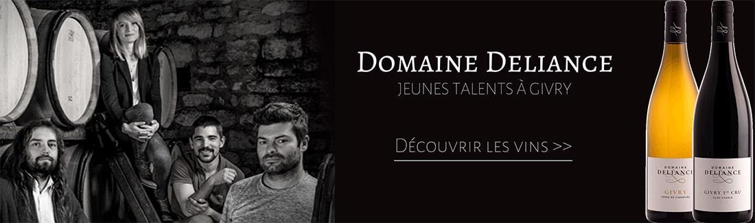 Equipe et vins du Domaine Deliance à Givry en Bourgogne