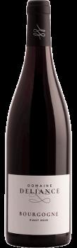 Bouteille de vin Bourgogne Pinot Noir du Domaine Deliance