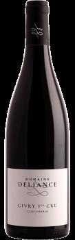 Bouteille de vins Givry Rouge Premier Cru Clos Charlé du Domaine Deliance