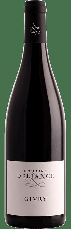 Bouteille de vin Givry Rouge du Domaine Deliance