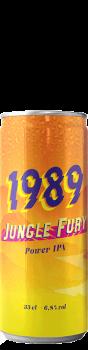 Canette de bière Jungle Fury IPA Brasserie 1989 Brewing