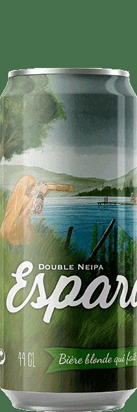 Canette de bière Esperada Double Neipa Piggy Brewing Company