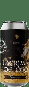 Canette de bière Lacrima de Oro Triple NEIPA Brasserie Piggy Brewing Company