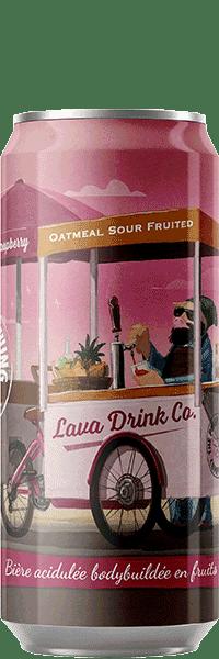 Canette de bière Lava Drink Co Oatmeal Sour Piggy Brewing Company