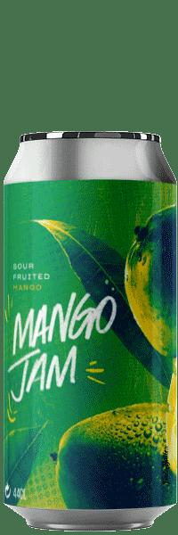 Canette de bière Brasserie Mango Jam Sour Piggy Brewing Company