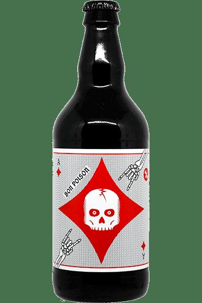 Bouteille de bière Oktobertest Ginger Beer de la brasserie Bon Poison