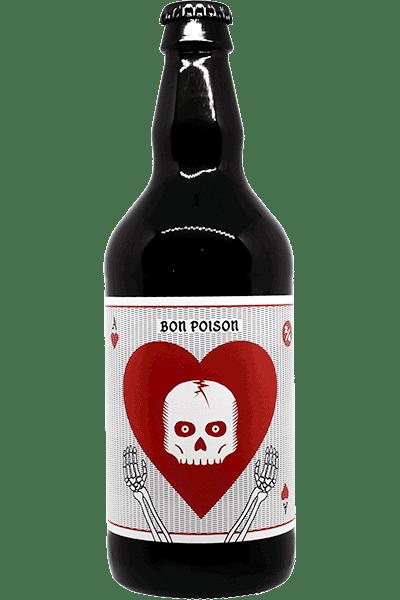 Bouteille de bière Oktobertest Pale Lager de la brasserie Bon Poison