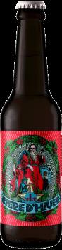Bouteille de Bière d'Hiver de Noel brasserie La Débauche