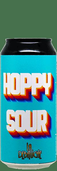 Canette de Bière Hoppy Sour Milkshake IPA de la brasserie La Débauche