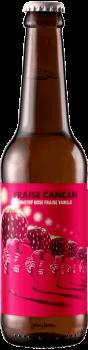 Bouteille de bière artisanale Fraise Cancan Brasserie Hoppy Road
