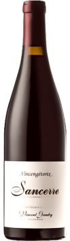 Bouteille de vins Sancerre rouge Vincengetorix du Domaine Vincent Gaudry