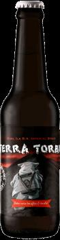 Bouteille de bière Terra Torba Imperial Stout Brasserie Piggy Brewing Company