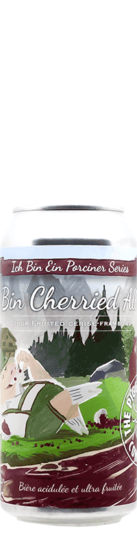 Canette de bière Ich Bin Cherried All Day Sour Brasserie Piggy Brewing Company
