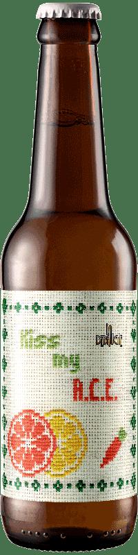 Bouteille de Bière Kiss My Ace Pale Ale brasserie La Débauche