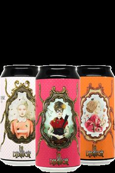 Coffret nouveautés Pstry Sour péchés capitaux de bières artisanales brasserie La Débauche
