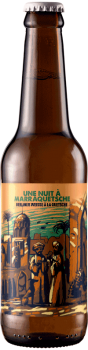Bouteille de bière artisanale Une nuit à Marraquetsche Berliner Weisse Brasserie Hoppy Road