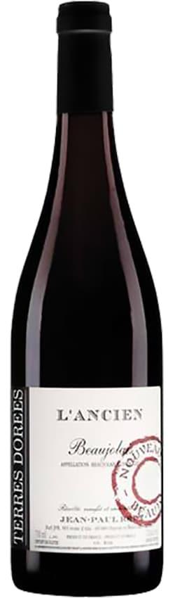 Bouteille de vins Beaujolais Nouveau du Domaine des Terres dorées