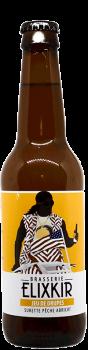 bouteille de biere artisanale jeu de drupes surette abricot brasserie elixkir