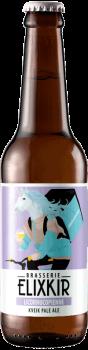bouteille de biere artisanale licornucopienne kveik pale ale brasserie elixkir