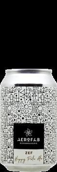 Canette de bière Zef Hoppy Pale Ale brasserie aerofab