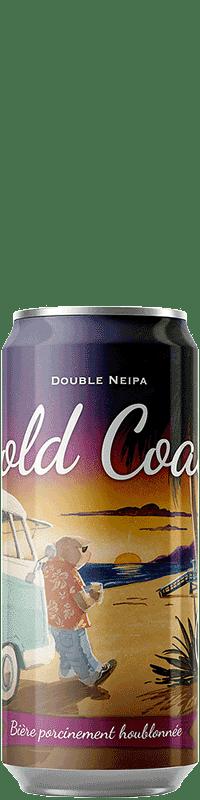 Canette de bière Gold Coast Double NEIPA Brasserie Piggy Brewing Company