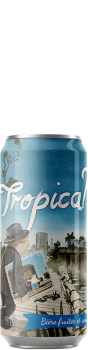 Canette de bière Tropical Twin NEIPA Brasserie Piggy Brewing Company