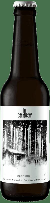 Bouteille de Bière Insomnie de la brasserie La Débauche