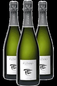 Coffret Champagne Fleury Fleur de l'Europe